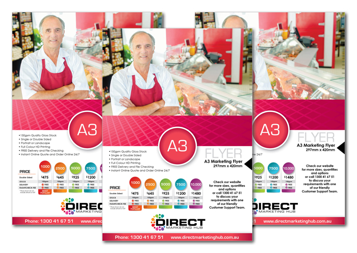 A3 Marketing Flyers