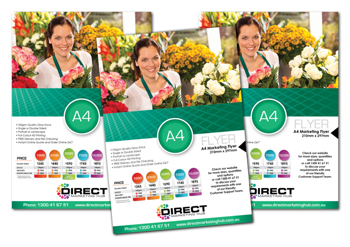 A4 Marketing Flyers