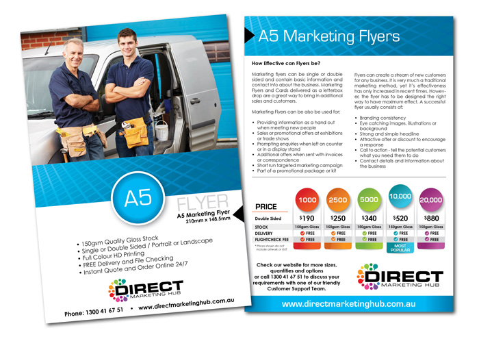 A Marketing Flyer