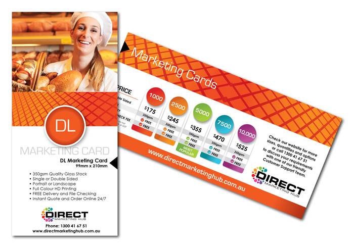 DL Marketing Cards